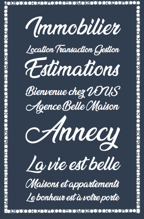 Decoration agence immobiliere